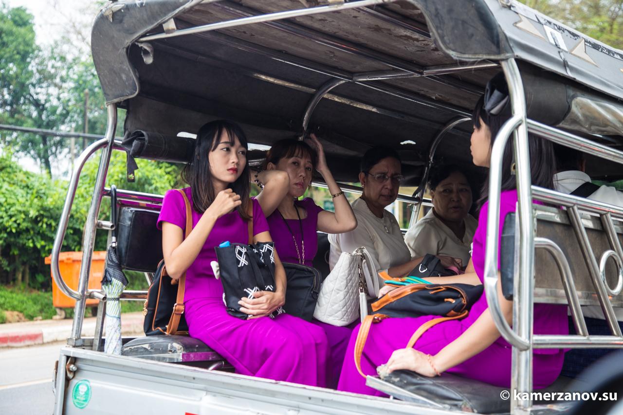 Маршрутка в Янгоне