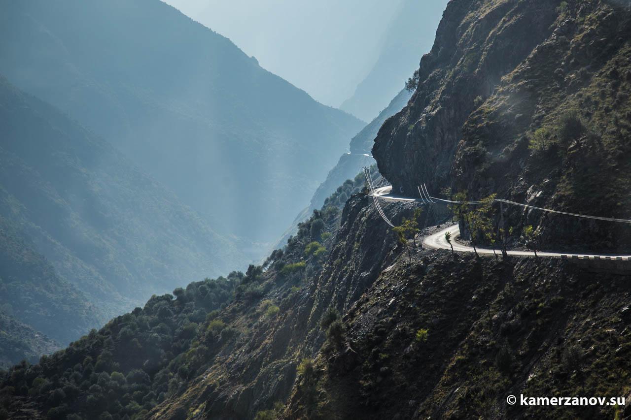Каракорумское шоссе. Пакистан