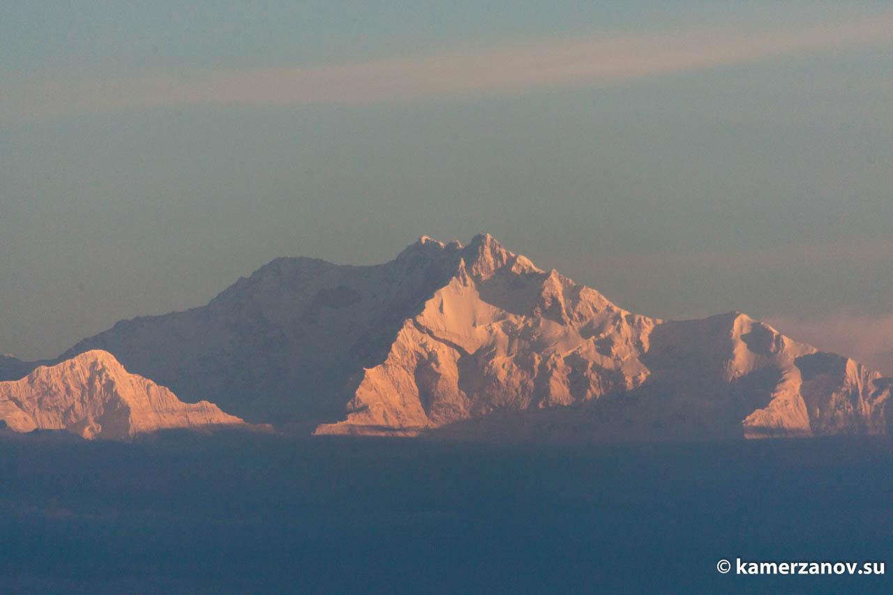 Третья по высоте гора мира. Канченджанга