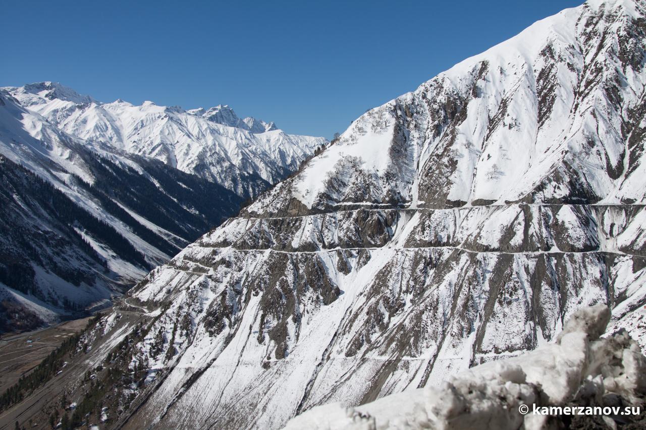 Наши любимые горные дороги. Это перевал Зоджи-Ла