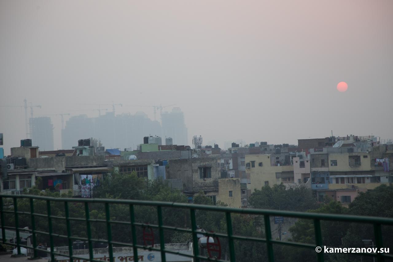 Город закрыт тяжелейшим смогом